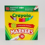 10 Pack of Crayola Assorted Markers