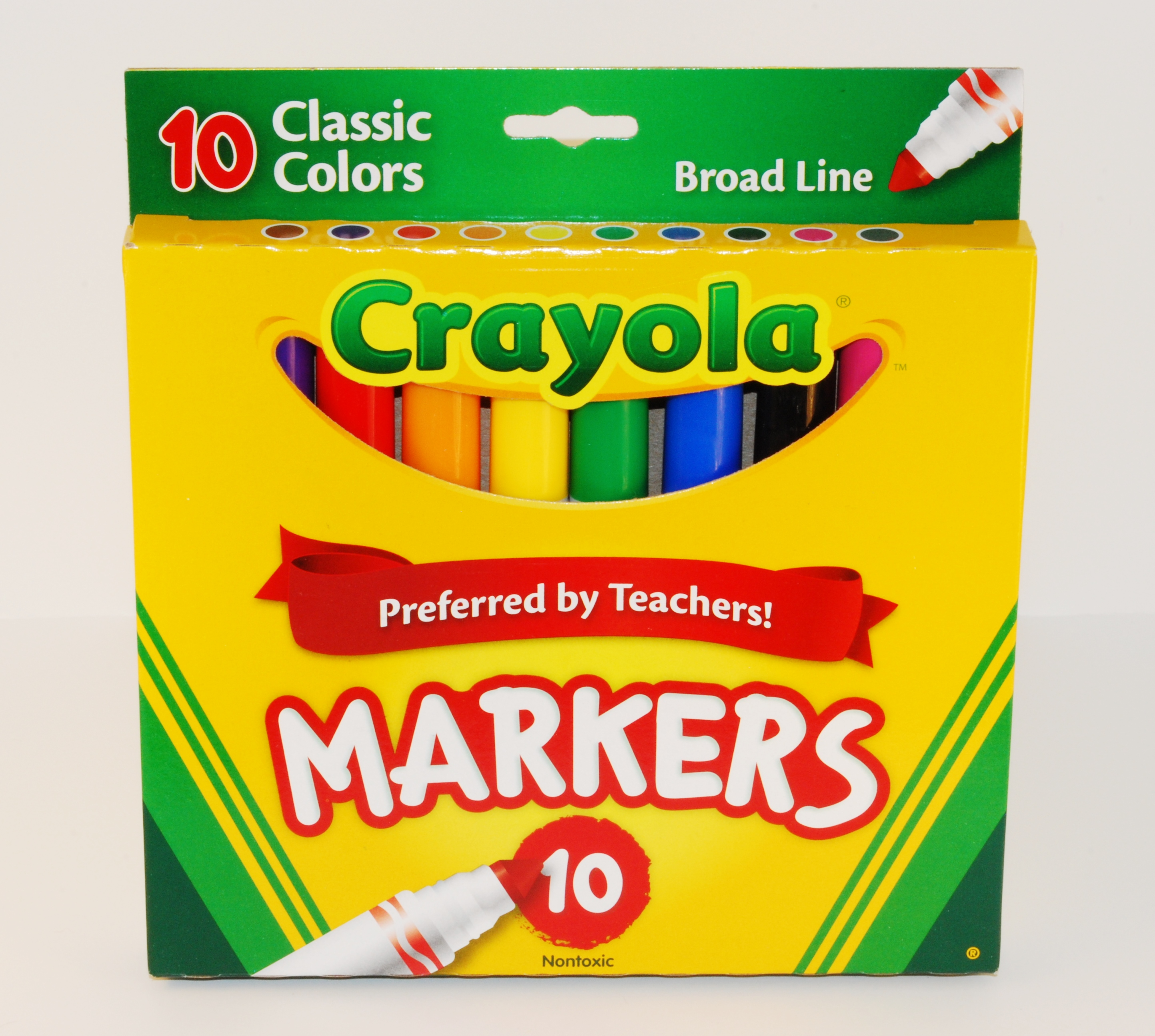 10 Pack of Crayola Classic Markers - The Art Spark: A Creative ...