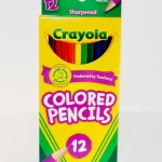 12 Pack of Crayola Colored Pencils
