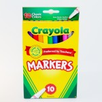 10 Pack of Crayola Skinny Markers